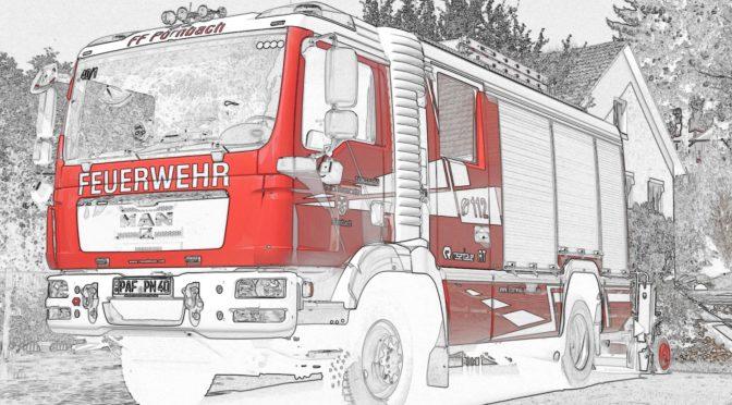 Einsatzreiche Woche der Feuerwehr Pörnbach
