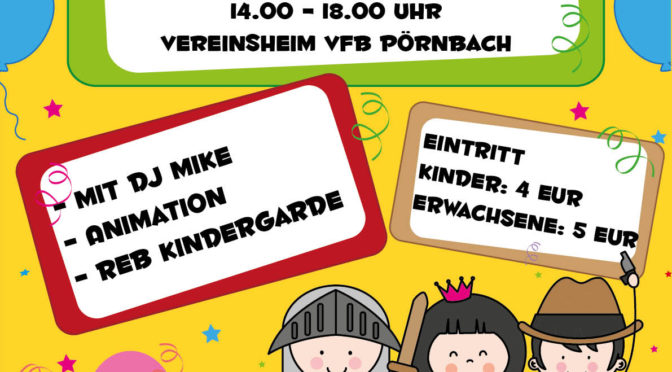 Kinderfasching 16.02.2020